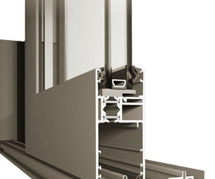Balconeras elevables dos, tres carriles: Productos de Tancaments Finsar