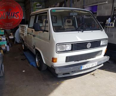 VW T3 Dokka - Suspensión