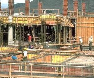 fotografia de arranque de construccion