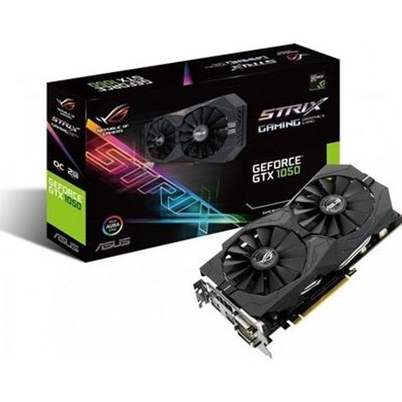 ASUS VGA NVIDIA STRIX-GTX1050-O2G-GAMING 2GB DDR5