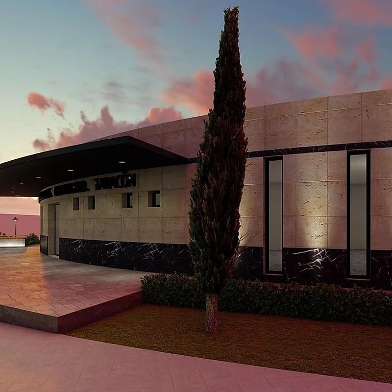Tanatorio Arganda del Rey: Alfaro Arquitecto de Alfaro Arquitecto 3A3, S.L. Tlf: 606406555