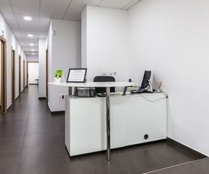 Recepción Centro de Estética Dental Innova