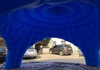 Carpa hinchable 8x4