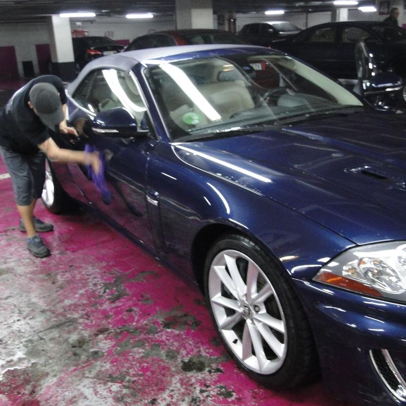 Lavado y engrase: Servicios de Parking Público Tudescos - Luna