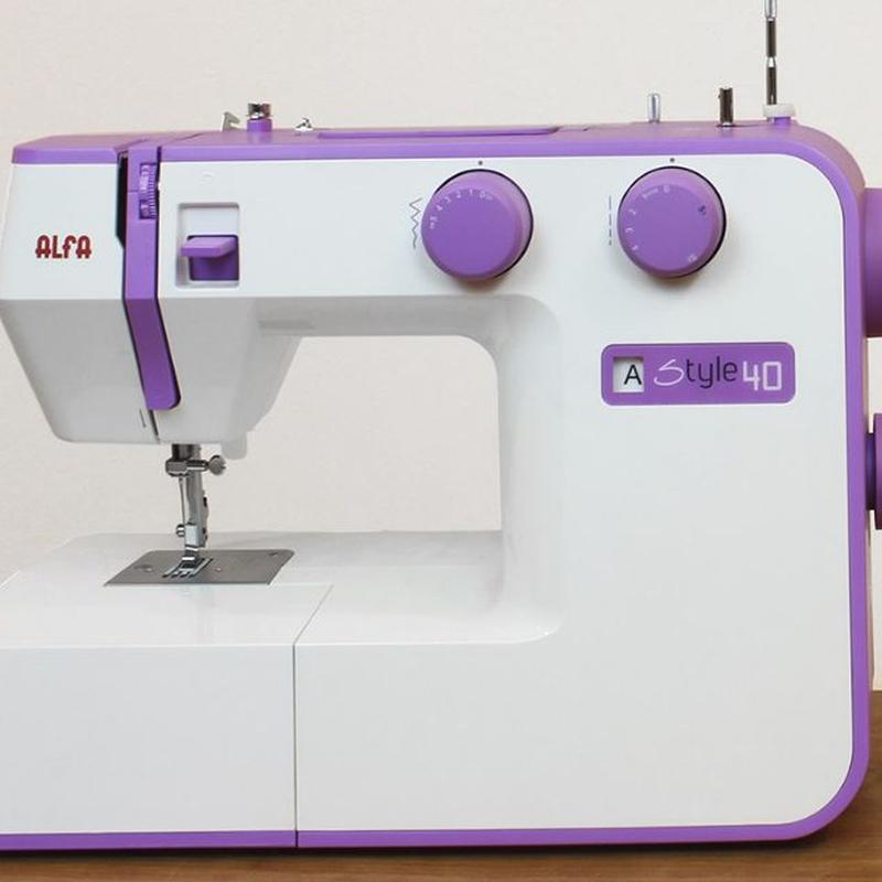 Alfa Style 40: Productos de Maquinas de Coser - Servicio técnico y repuestos