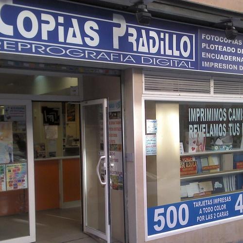 Copias Pradillo si se puede imprimir , podemos hacerlo, desde 1972 a su servicio