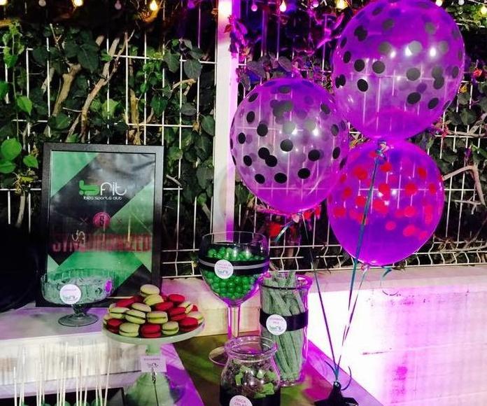 Decoración y organización de eventos: Catálogo de Chic Events Shop