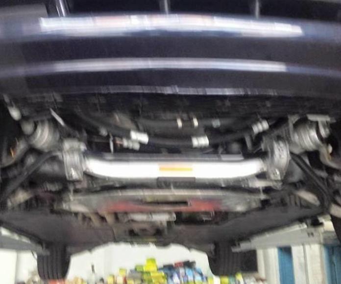 Limpieza de motores. Espuma activa : Servicios de Talleres LGA