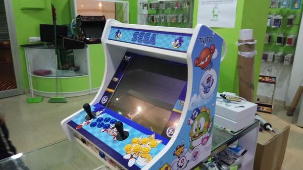 Servicio técnico para máquinas Arcade: Maquinas Recreativas de Mundo Arcade Sevilla