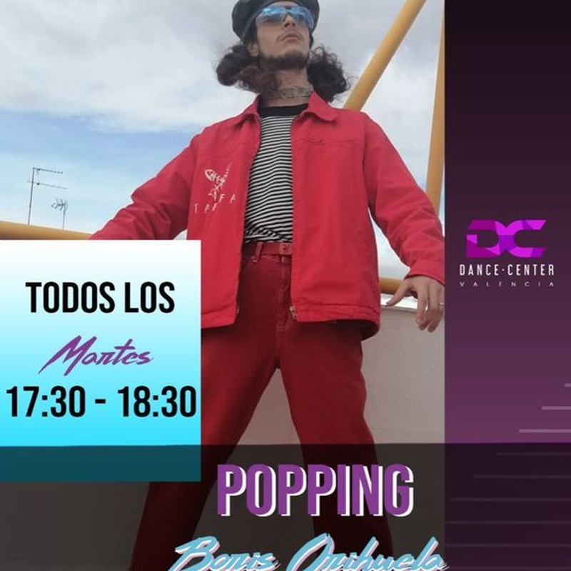 Clases de Popping en Valencia: Clases y Campamentos de Dance Center Valencia