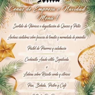 Cenas de empresa o Navidad
