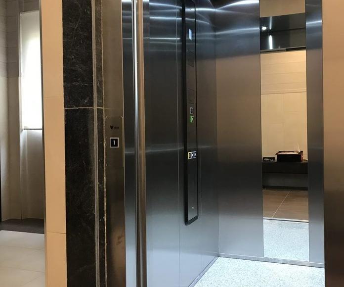 Montaje de ascensores: Servicios de Vitex Ascensores