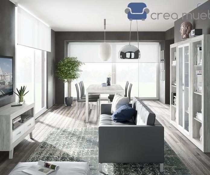 Salón Serie MOON18: Productos de Crea Mueble
