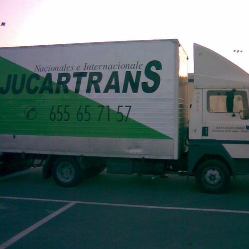 Transporte especial de electrodomésticos en Toledo | Jucartrans