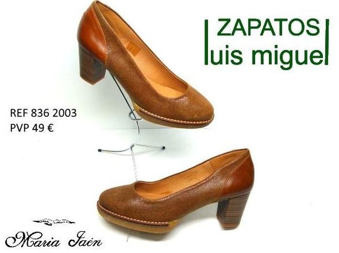 salon clasico con plataforma de Maria Jaen (ref 836-2003): Catalogo de productos de Zapatos Luis Miguel