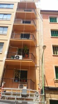 Fachada en Palma de Mallorca c/Guiem Massot