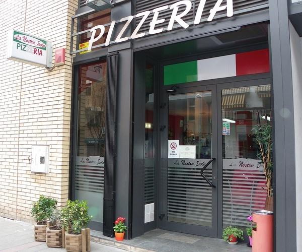 Pizzerías en Montcada i Reixac | La Nostra Isola