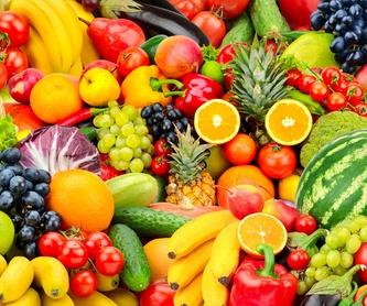 Pan árabe: Frutas y verduras de La Alegría de la Huerta