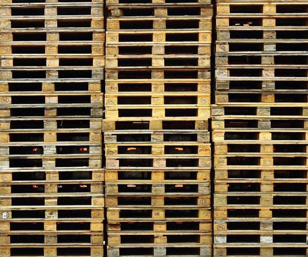 La importancia de los palets en la logística