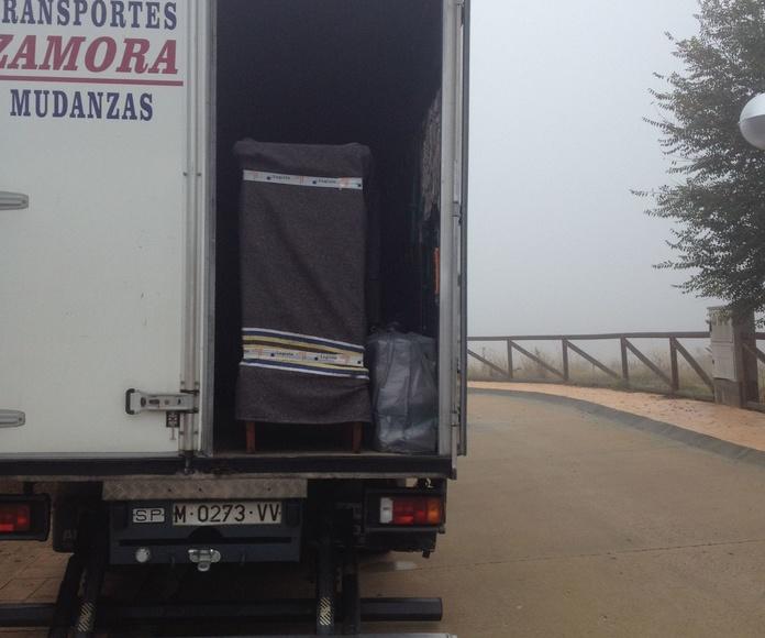 Servicio estándar: Servicios de Mudanzas Zamora