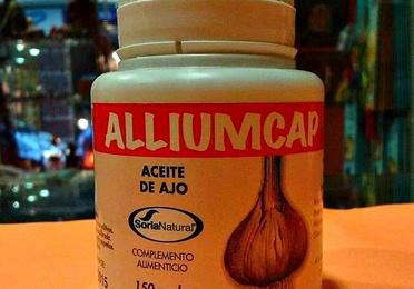Alliumcap aceite de ajo