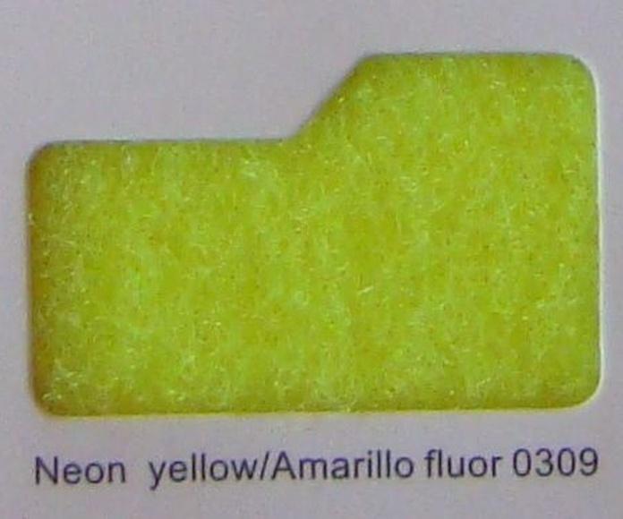 Cinta de cierre Velcro-Veraco 50mm Amarillo fluor 0309 (Rizo).