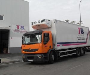Expertos en el transporte de mercancías refrigeradas en Baleares