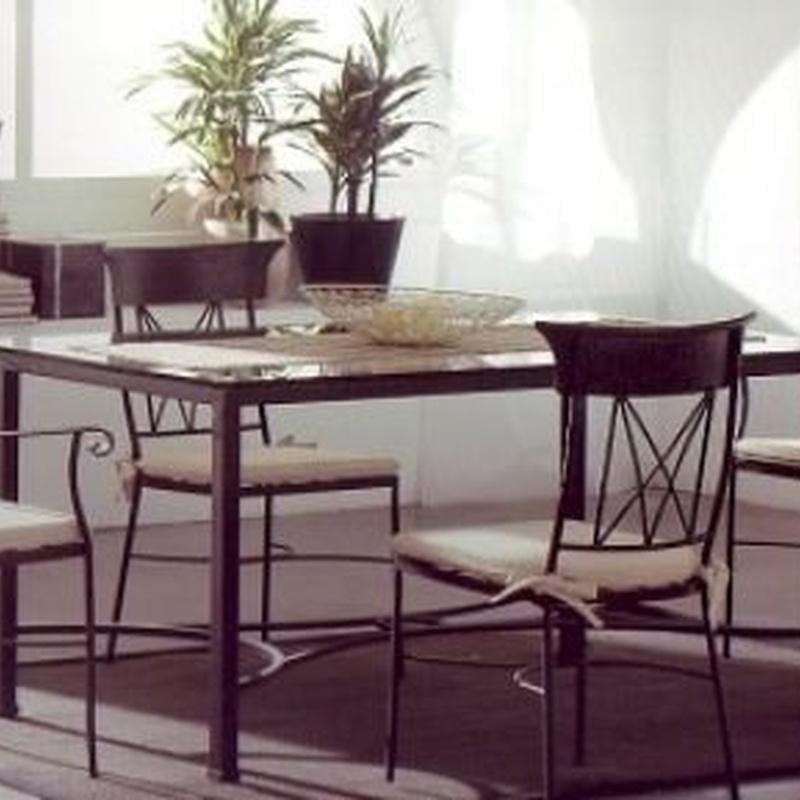 Mesa Viena: Catálogo de muebles de forja de Forja Manuel Jiménez