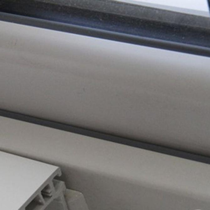 Cuidado de las ventanas de aluminio