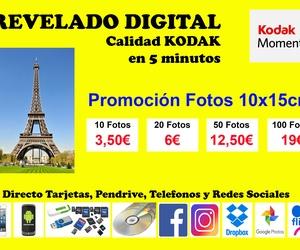 Revelado digital promoción fotos 10x15 cm