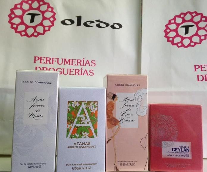 Perfumes de Adolfo Dominguez