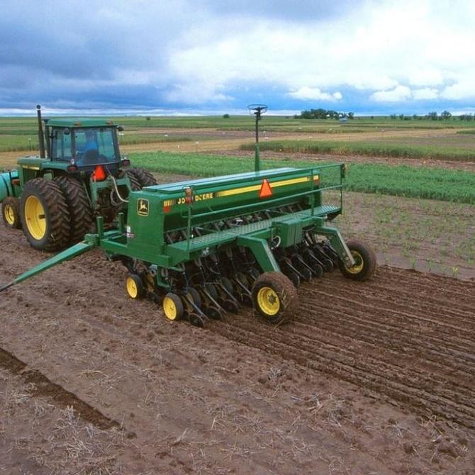 La maquinaria agrícola