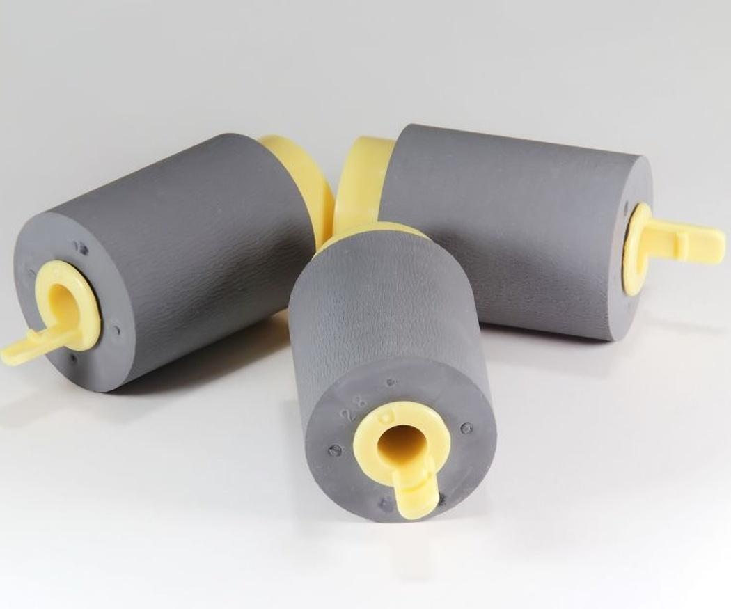 Recubrimientos en caucho para piezas de maquinaria
