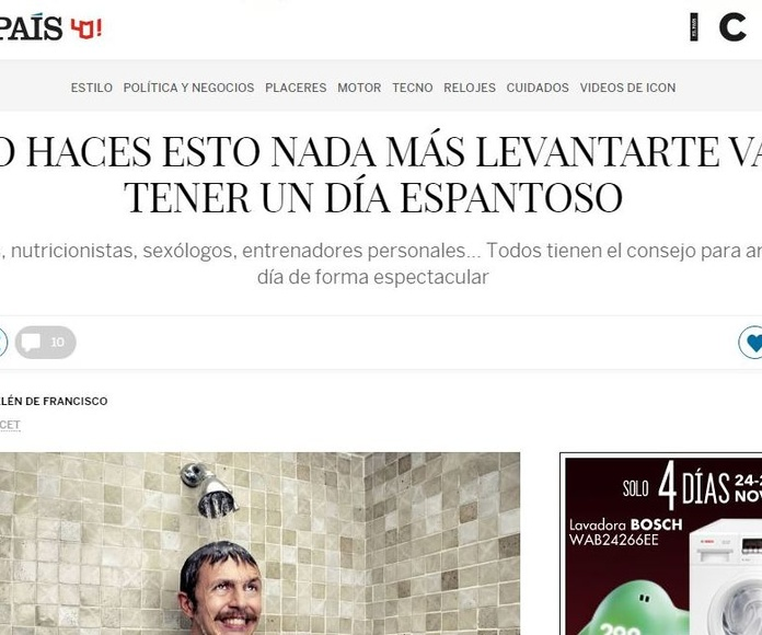 Nueva colaboración en la Revista Icon de El País