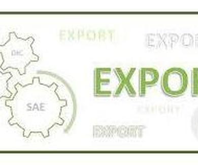 Certificado SAE de exportación