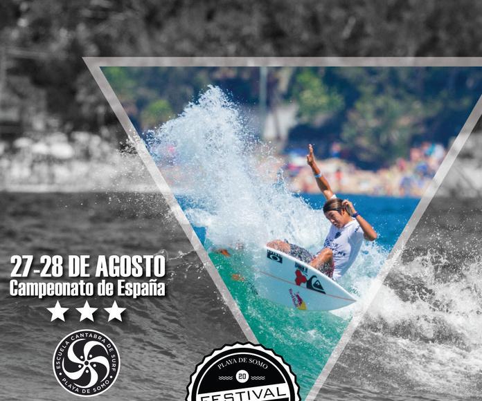 Campeonato de Surf Festival Escuela Cantabra de surf