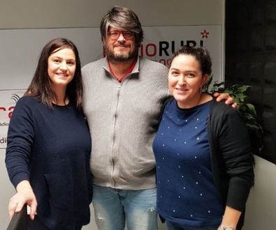 ¡Nos entrevistan en Radio Rubí!