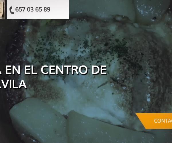 Tapas y vinos en Ávila | El Rincón D´María