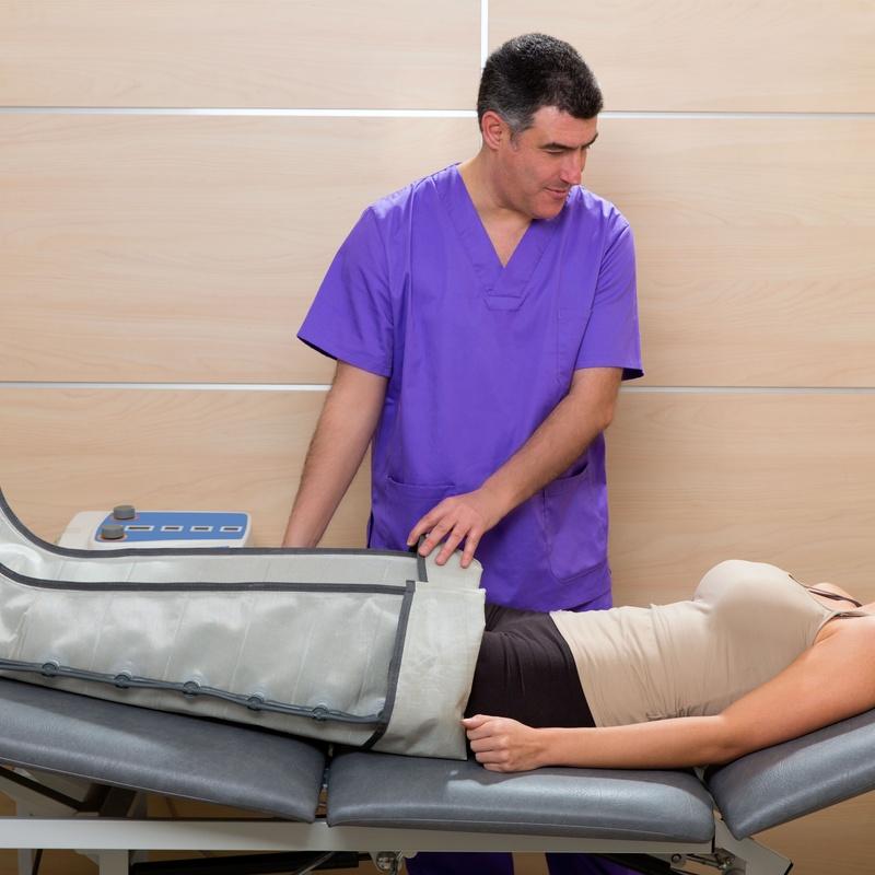 Presoterapia: Tratamientos de Azul Salón De Belleza