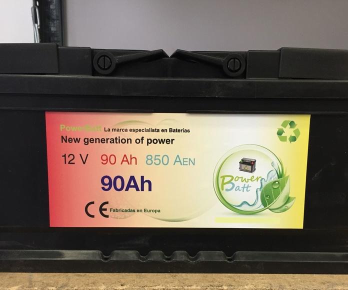 venta de baterías en Madrid