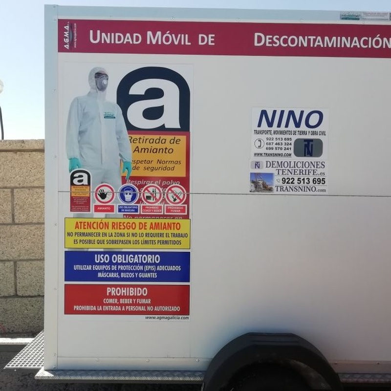Retirada de amianto: Servicios de Grupo Nino