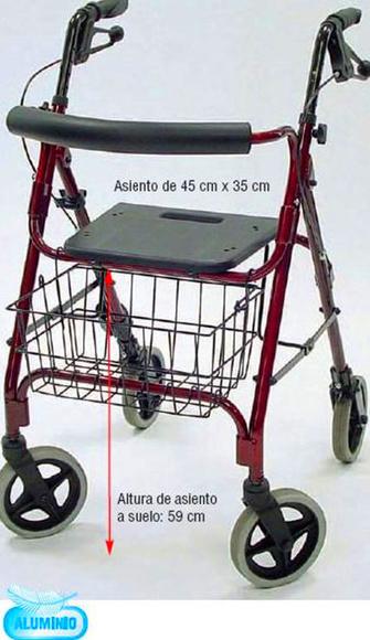 """Andador plegable """"ERGO"""" Asturias"""