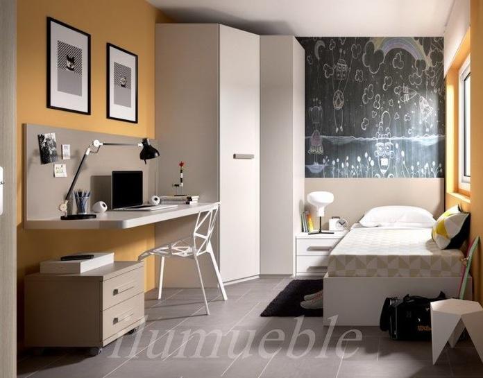 Habitación senior, colores neutros y armoniosos que dan calidez y amplitud a la estancia.