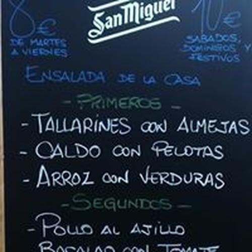 Restaurante menú diario Alicante