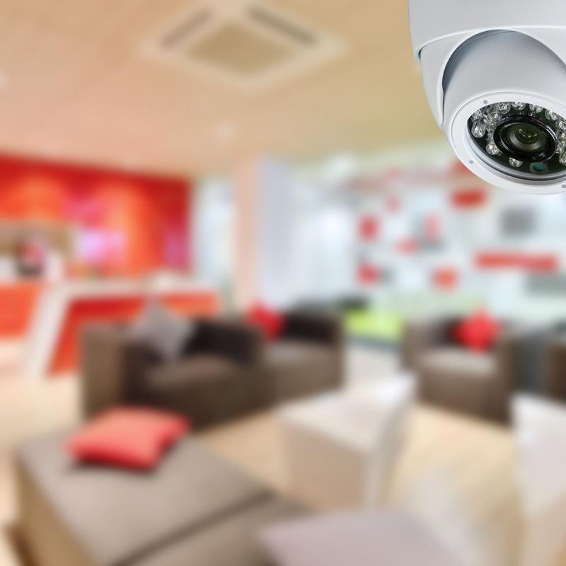 Sistemas de videovigilancia CCTV: Servicios de Informática Valdespartera