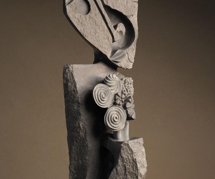 La Mujer de las Flores, 78 x 28 cm, Amos Supuni