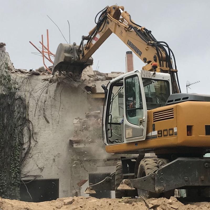 Derribos: Servicios de D. B. Excavacions