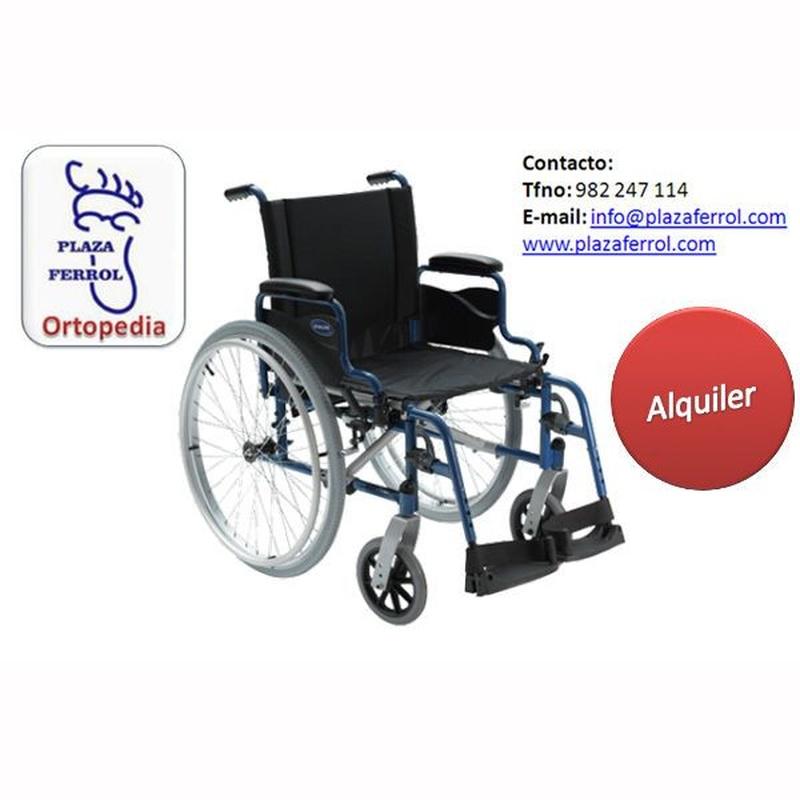 Alquiler silla de ruedas manuales: Catálogo de Edensalus