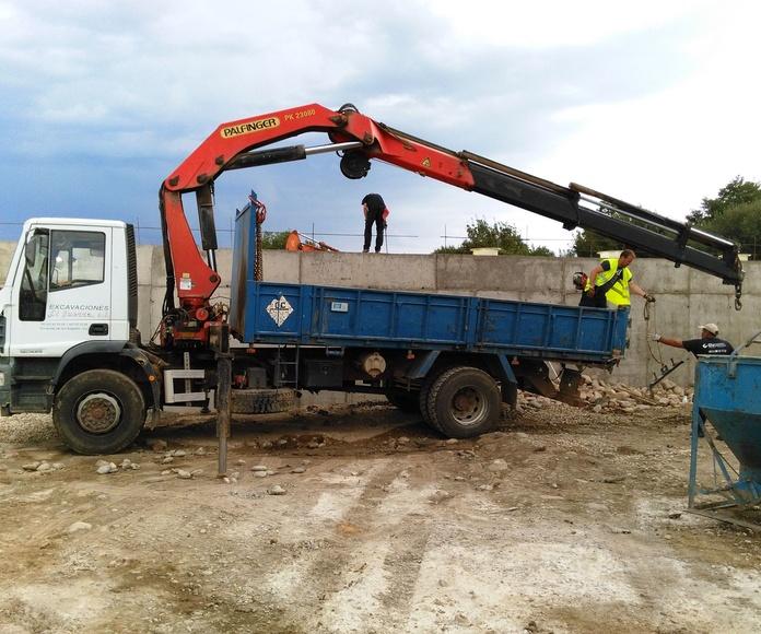 Excavaciones: Servicios de Excavaciones y Transportes El Guerra