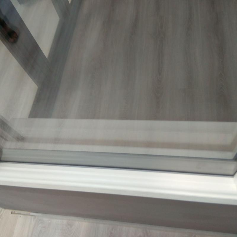 Perfil triple vidrio